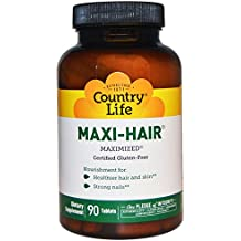 Country Life, Maxi-Hair, 90 Tabletas