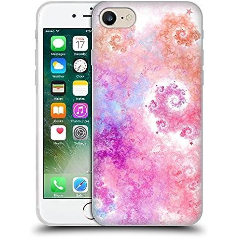 Ufficiale Eli Vokounova Zucchero filato Arte Frattale Cover Morbida In Gel Per Apple iPhone 7