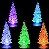 Hunpta Bunte Fiber Optic Baum Weihnachten LED Home Party Xmas DecorationChristmas Geschenk (Zufällige)