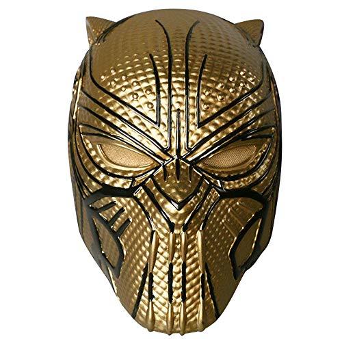lm Panther Anti-Golden Leopard Helm Eric Maske Kopfbedeckung Halloween Movie Requisiten ()