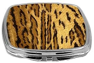 Rikki Knight Compact Mirror, Leopard Spots