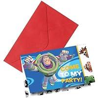 6 Einladungskarten Toy Story 3™