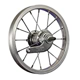 Taylor-Wheels 12 Zoll Hinterrad Büchel Aluminiumfelge Velosteel Rücktrittnabe