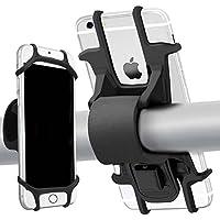 "Patomos Soporte Movil Bicicleta Soporte para teléfono para Manillar de Bicicleta, de Silicona Suave, a Prueba de Golpes (Antivibración), 4.0""-6.0"" Smartphones"