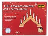 Idena LED Adventsbogen 7 Lichter, natur 8582088 Vergleich