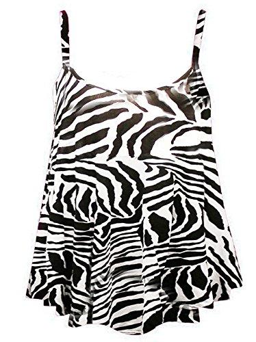 anar kali - Canotta -  donna Zebra Print