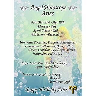 Aries Horoscope Birthday Card 8