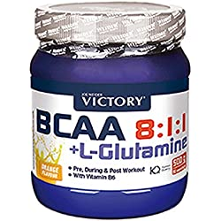 Weider Victory, BCAA 8:1:1 + Glutamina, de Naranja - 500 gr