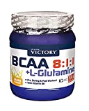 Weider BCAA 8:1:1 + Glutamin  - Geschmack: Orange, 1er Pack (1 x 500 g)