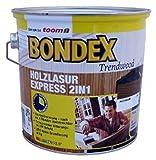 Bondex Holz lasur 2in1 Express 722 Eiche 5 Liter