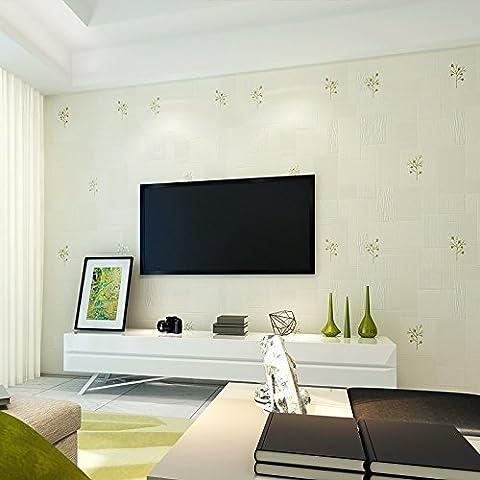 LLYY-Spruzzato per tessuto non tessuto di doratura oro alberelli, soggiorno camera da letto pareti sala wallpaper