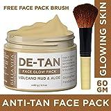 Bella Vita Organic De Tan Removal Face Pack For Fairness,Whitening, Skin Tightening, Glow