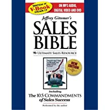 Jeffrey Gitomer's Sales Bible: The Ultimate Sales Resource [With DVD, iPod Ready DVD] by Jeffrey Gitomer (2008-12-16)