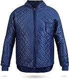 Thermo-Unterzieh-Jacke Thermojacke Thermounterwäsche mit Nierenschutz Blau Gr. S-XXXL Größe XL