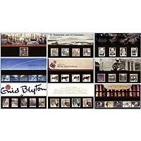 1997Confezione commemorativa anno Set (9confezioni)–Francobolli Royal