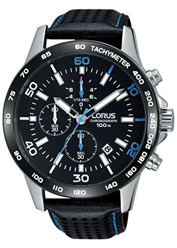 LORUS Orologio Cronografo Quarzo Uomo con Cinturino in Pelle RM305DX9