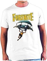 Mx Games Camiseta FORTNITE Aterrizaje Tallas Niños y Adultos (7-8 Años)