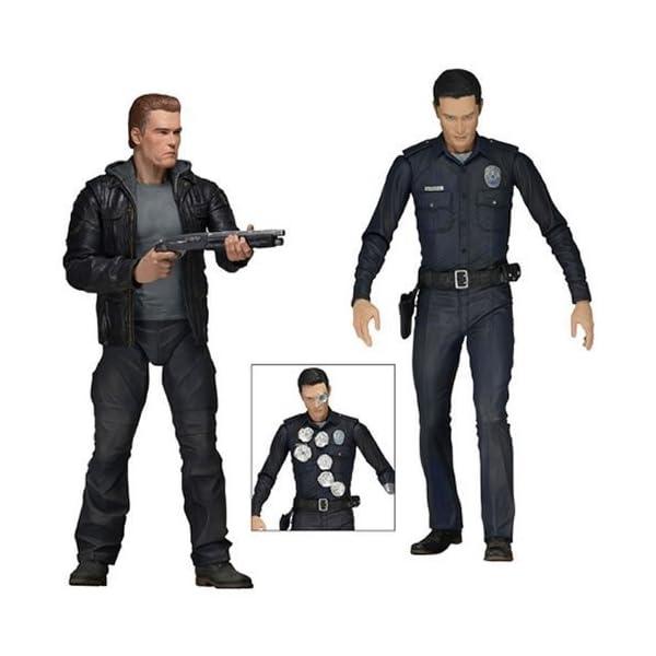 Neca Terminator Genisys 7-Inch Action Figures Set of 2 by Neca 1