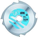 OX ox-pcd-216/304Zähne Faserzement Schneiden Klinge, 0V, silber/blau, 216/30mm