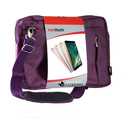 Navitech Purple Laptop / Notebook / Ultrabook Case / Bag For The Apple Macbook AIR 13.3 inch 2017