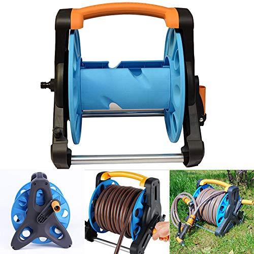 Liamostee Gartenschlauch-Aufroller Ständer Wasserrohr-Aufbewahrungstasche Wagenhalter Halterung für 35 m Schlauch 1/2 Zoll