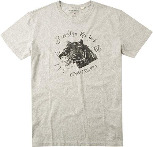 Polo Ralph Lauren Denim&Supply Herren T-Shirt Shortsleeve, Größe: L, Farbe: Grau
