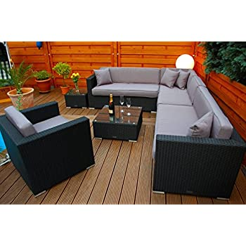 Amazon.de: PolyRattan Lounge DEUTSCHE MARKE -- EIGNENE PRODUKTION ...