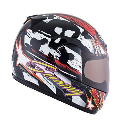 Suomy Motorradhelm Apex Rolling Thunder, Mehrfarbig (Rolling Thunder), S (Solar Helm Bell)