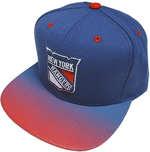 Mitchell & Ness New York Rangers Stop On A Dime Snapback Cap NZ57Z Kappe Basecap