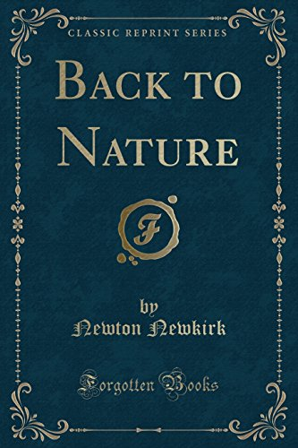 back-to-nature-classic-reprint