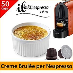 50 capsule compatibili Nespresso Creme Brulèe per macchina caffè Nespresso - Capsule dedicate a macchine Nespresso - Il…