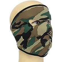 jiacheng29al aire libre militar motocicleta Esquí Ciclismo Deporte Gráfico cráneo asesino máscara de cara completa, 7