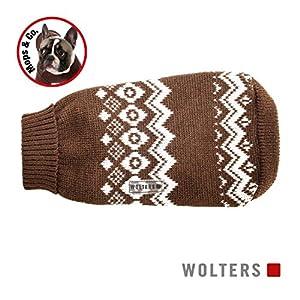 Wolters Cat & Dog Pull Norvégien pour carlin & Co 50cm Marron/blanc