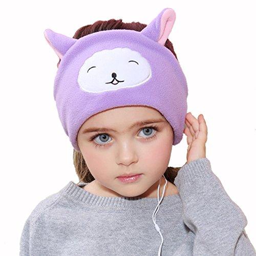 Kinder Hörschutz Kopfhörer - Easy Adjustable Kinder Kostüm Stirnband Kopfhörer für Kinder, ideal für Reisen und zu (Design Kostüm Sound Music Of)