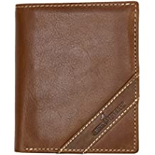 Portefeuille Green Valley, brun, de cuire véritable souple de qualité