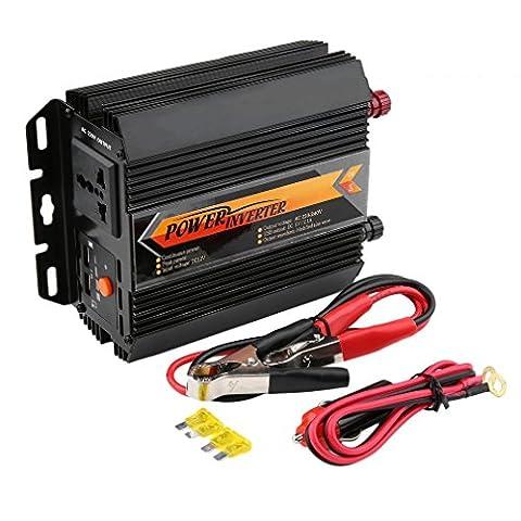 maistore 1500W/3000W Power Inverter DC 12V auf 220V AC Konverter mit AC Steckdose Auto Car Power Inverter Ladegerät Konverter