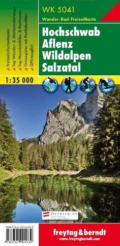 WK 5041 Hochschwab - Aflenz - Wildalpen - Salzatal, Wanderkarte 1:50.000, freytag & berndt Wander-Rad-Freizeitkarten
