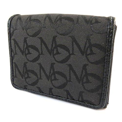 Morgan [E3931] - Porte-Monnaie Porte-Cartes 'Morgan Jacquard' Noir