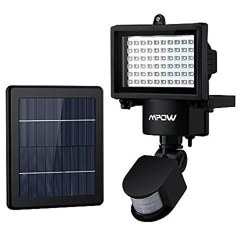 Solaire Exterieur - 60LED Lampes solaires de jardin, Mpow lampe