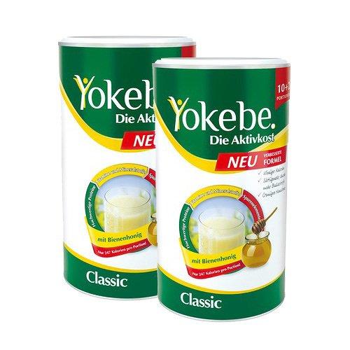 Yokebe Classic Pulver Bundle 2 x 500g 1000 g Pulver