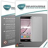 4 x Slabo Bildschirmschutzfolie für Huawei Nova Bildschirmfolie Schutzfolie Folie Zubehör (verkleinerte Folien, aufgr& der Wölbung des Bildschirms)