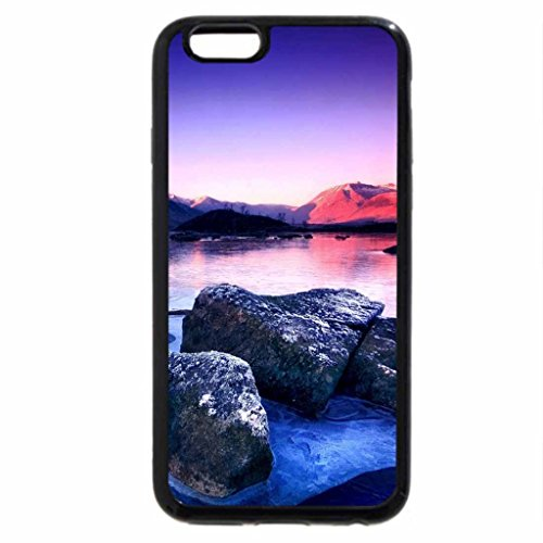 iPhone 6S / iPhone 6 Case (Black) superb lake in winter hdr