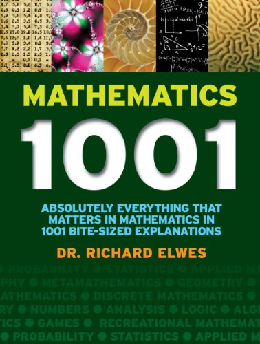 Mathematics 1001: Absolutely Everything That Matters in Mathematics in 1001 Bite-Sized Explanations por Richard Elwes