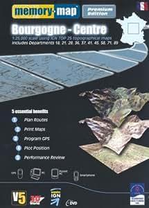 Memory Map Bourgogne Central Premium (PC)