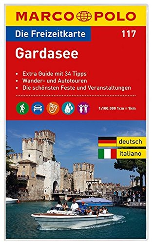 MARCO POLO Freizeitkarte Gardasee 1:100:000