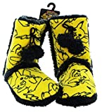 Pokemon Pikachu Women's Boot Slippers: Small