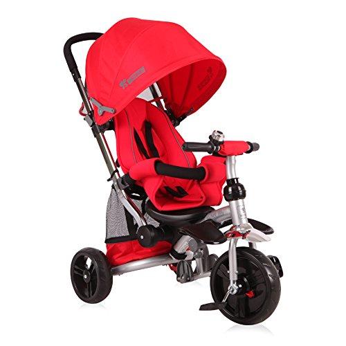 Lorelli Lexus Tricycle Évolutif pour Bébé/Enfant Rouge
