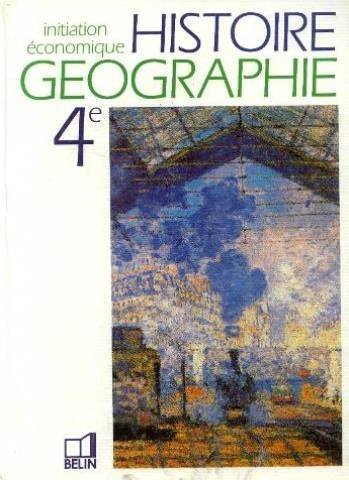 Histoire, géographie, initiation économique 4e
