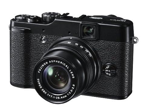 Fujifilm X10 Digitalkamera (12 Megapixel, 4-fach optischer Zoom, 7,1 cm (2,8 Zoll) Display)