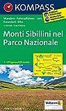 Monti Sibillini nel parco nazionale 1:50.000